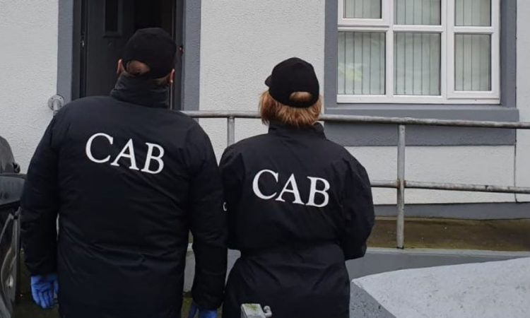 CAB search operation in Galway on plant and machinery gang