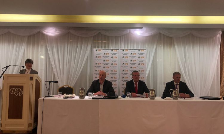 Fiery questions from floor at IFA presidential debate in Athenry