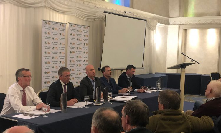 IFA elections: Bull calves and supermarkets major talking points at Navan debate