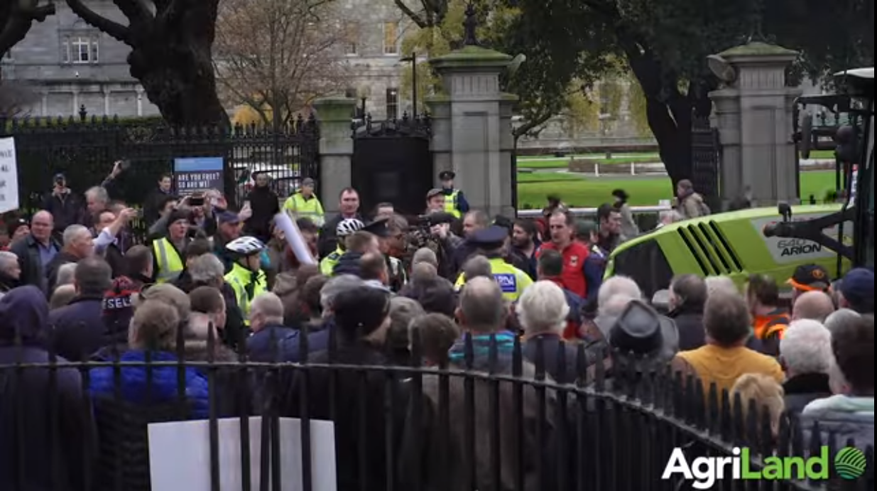 Protest 'indicates a very serious situation in rural Ireland' – TD