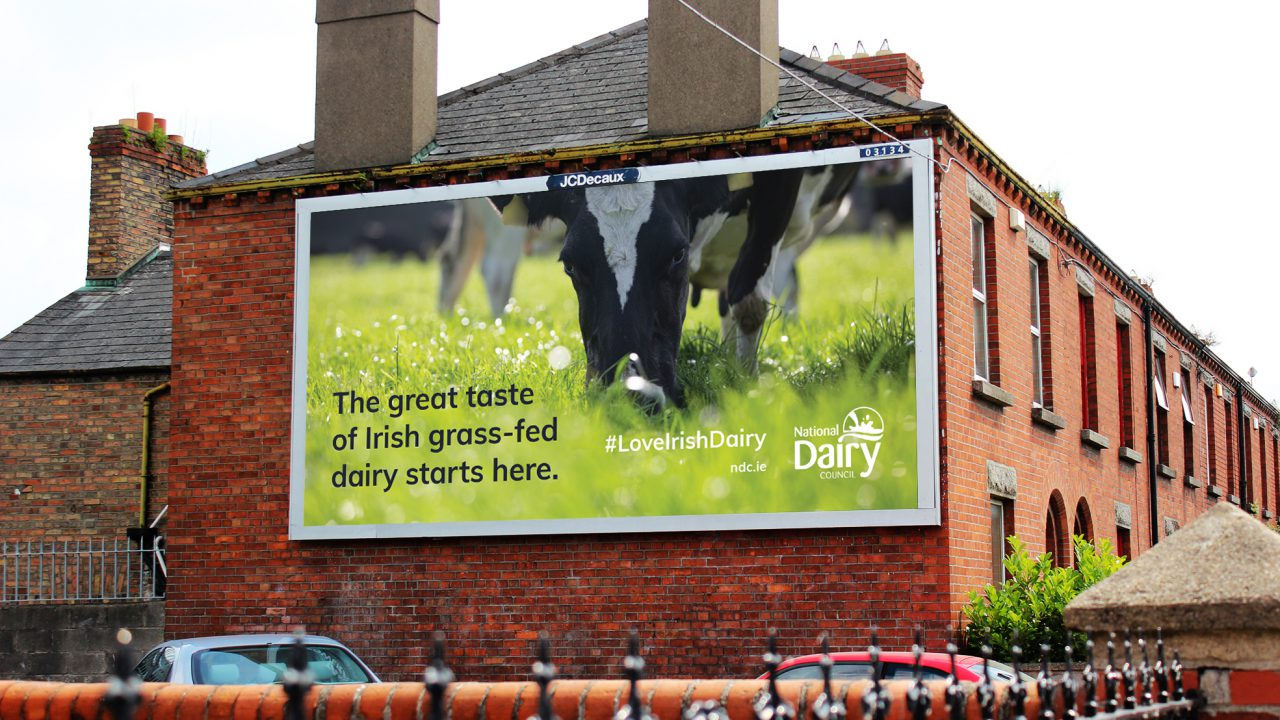 NDC uses outdoor advertising campaign to showcase dairy excellence
