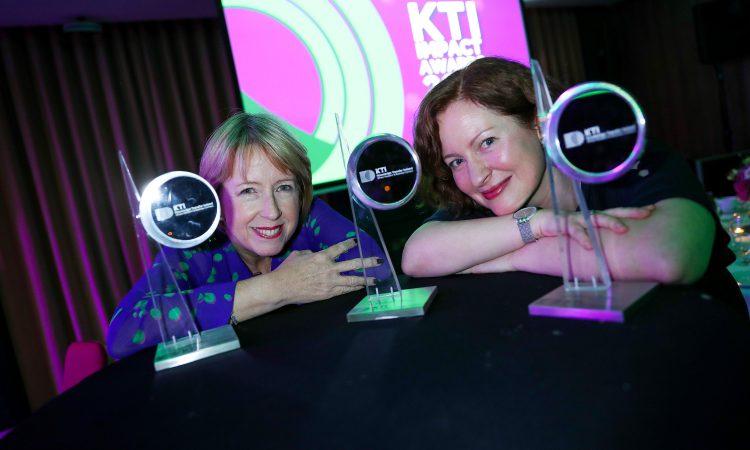 Strong dairy theme among winners of KTI Impact Awards 2019