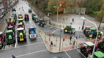 Tractors head for home as Dublin protest disbands
