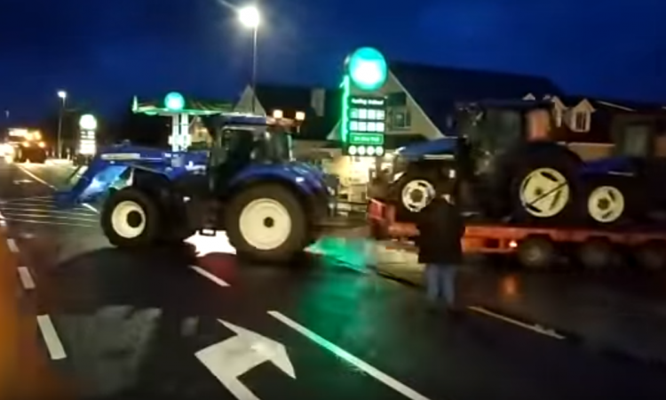 Tractor protest 'born out of sheer frustration' – McGrath