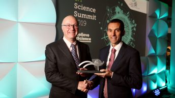 Bioeconomy consultant O'Connor takes tip researcher award
