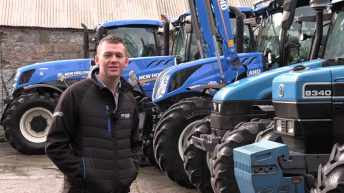 Video: 'A big advantage is that we're farming alongside selling machinery'