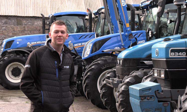 Video: 'A big advantage is that we're farming alongside selling machinery'
