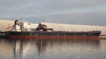 Largest shipment of UK grain this year sets sail