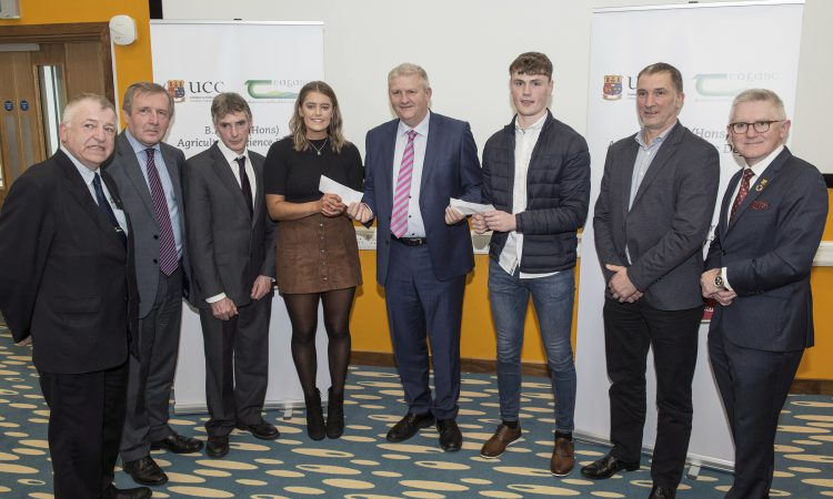 Dairygold awards 2 UCC students with bursaries