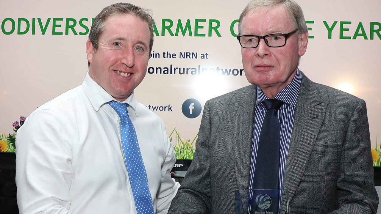 Kilkenny farmer named as 'Biodiversity Farmer of the Year'