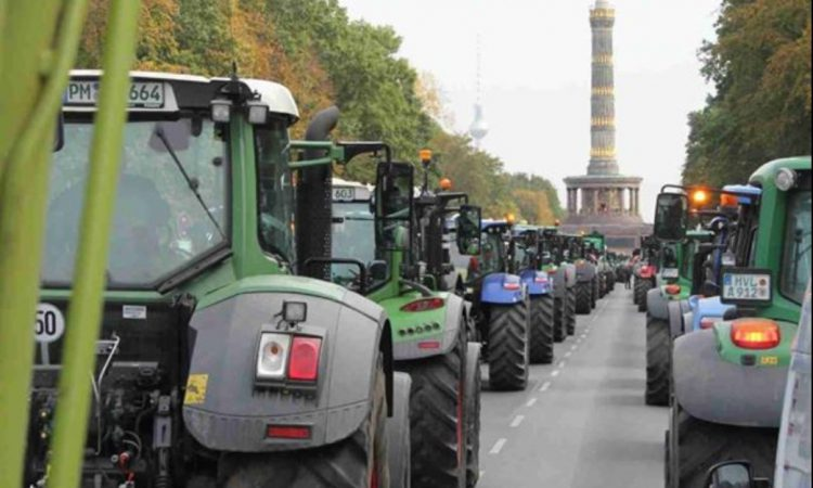 German farmers plan for Berlin tractor protest next week