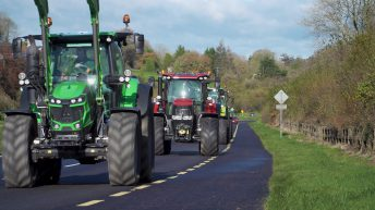 Parades Commission gives NI's first post-Covid tractor runs the green light