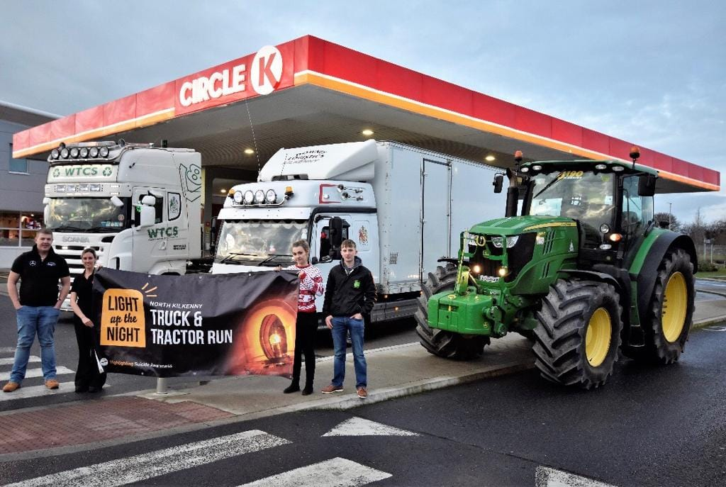 'Light up the night' truck and tractor run set for NYE