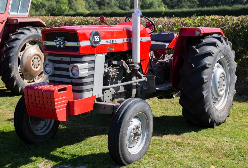Auction report: Coveted tractor collection goes 'under the