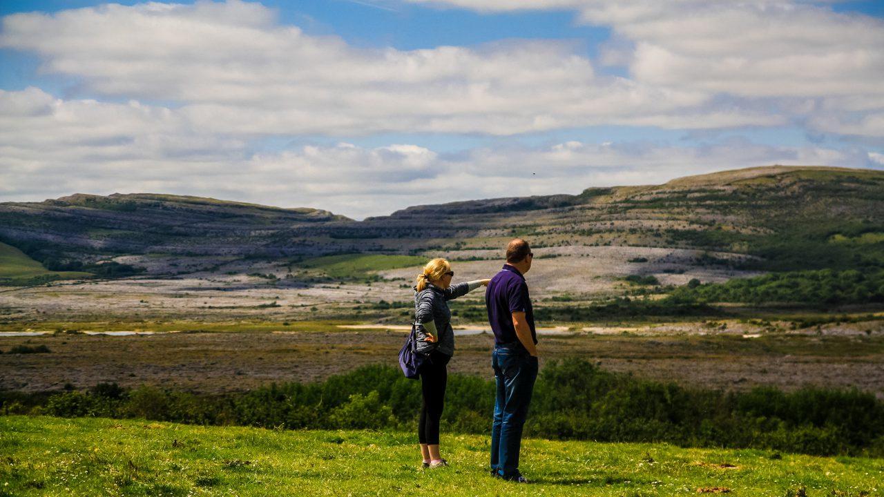 Burren national park farm diversifies into tours