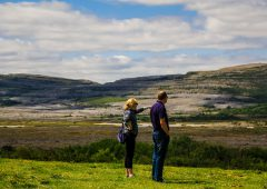 Burren national park farm diversifies into tours