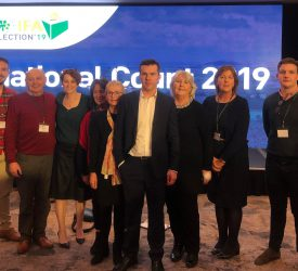 Rushe elected as deputy president of the IFA