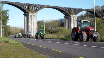 Reminder: Cork convoy hits the road…to warm up for a '500-strong tractor run'