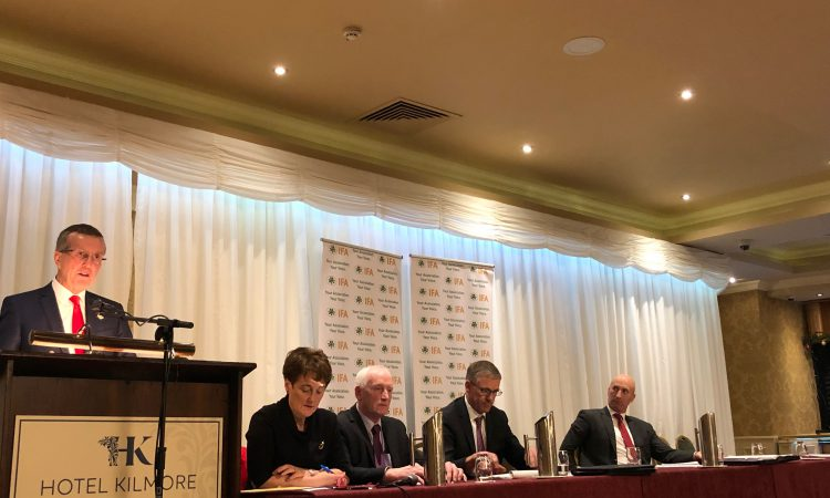 Cullinan: 'The future of IFA is at stake in this election'