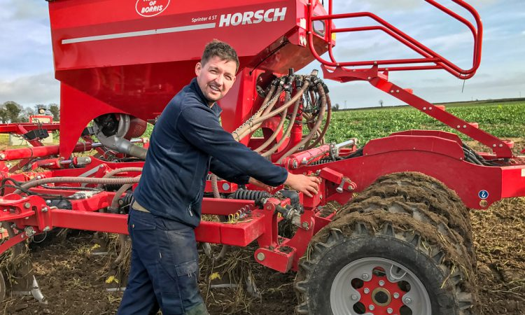 Look back: The first drilling of the year…beans in Co. Kildare