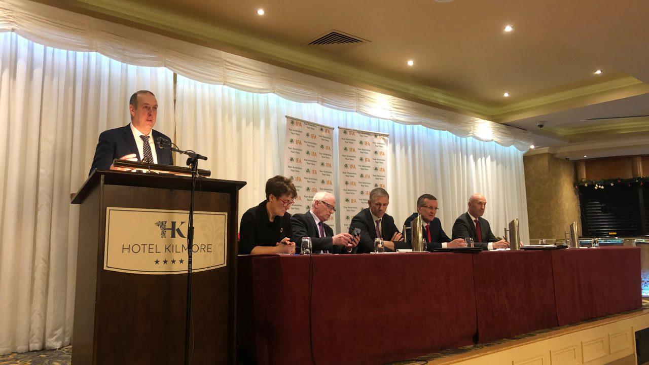 IFA elections: Cooney calls for reversal of CAP cut proposals
