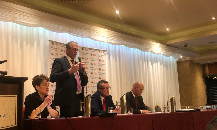 Coughlan calls for sustainability director appointment to IFA