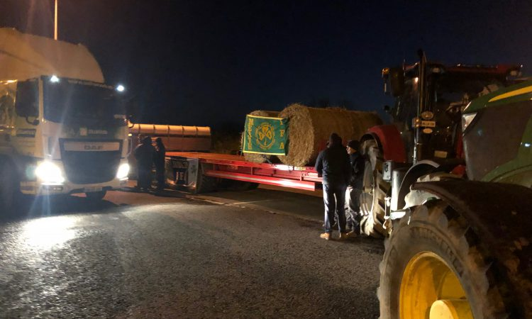 IFA blocks Tesco central distribution centre in latest beef protest