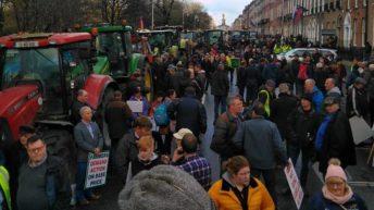 Gardaí 'aware' of potential tractor protest tomorrow