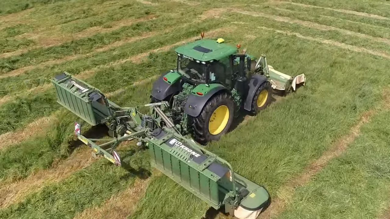 Krone disc mowers give 'perfect performance' and 'unmatched longevity'