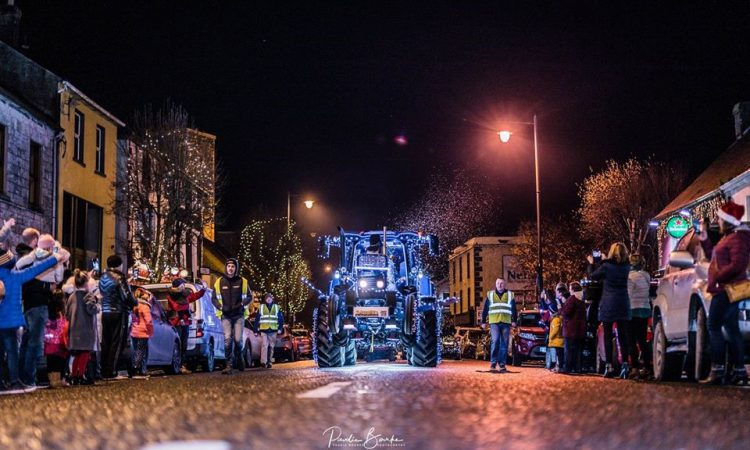 'Christmas tractors' to roll through Nenagh today