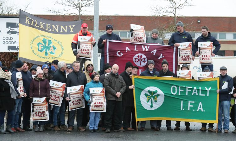 Updated: Aldi issues statement on IFA protest at distribution centre