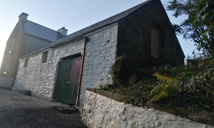 Breathing new life into an old derelict farm structure in Co. Clare