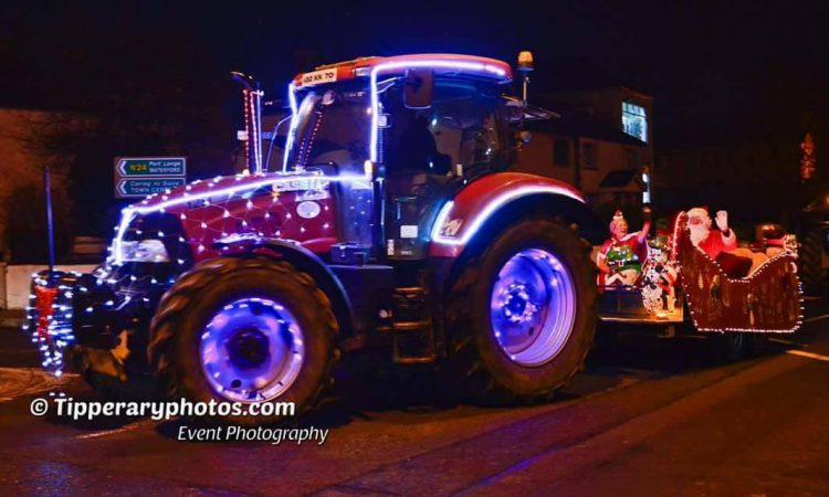 Christmas tractors of Carrick-on-Suir ready to sparkle