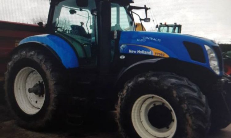 Appeal for info made following theft of tractor and tipper