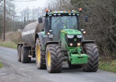 Take care when emptying your slurry tanks in the coming days and weeks