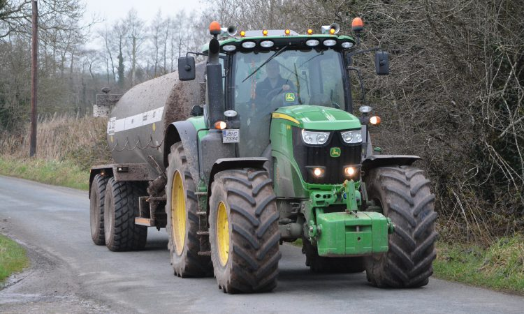 Are fast tractors driven by agri contractors required to have a CVRT?