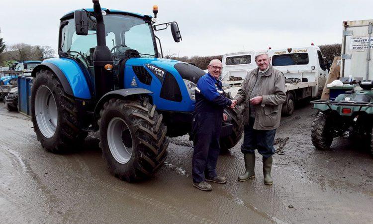 Farmer buys Landini tractor…for his 88th birthday