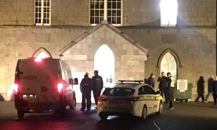 Garda presence and 'locked doors' at Beef Plan standoff
