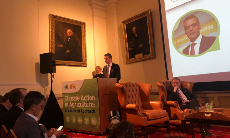 IFA climate event: Agri-food sector 'stands ready to respond'