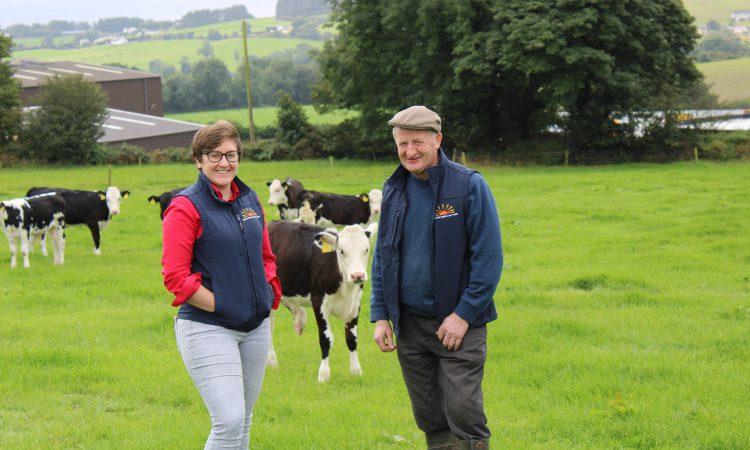 Co. Cork dairy farmer rearing calves on Transformula weaning a week earlier