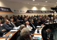 IFA national council elects new treasurer of organisation