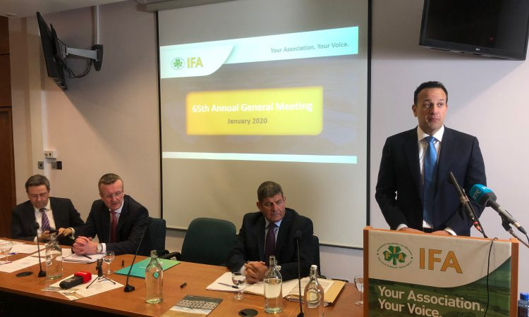 Varadkar addresses farmers' fears over climate action's effect on livelihoods