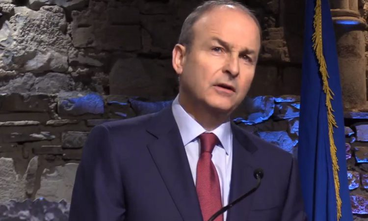 How did rural independent TDs vote on Martin's Taoiseach nomination?