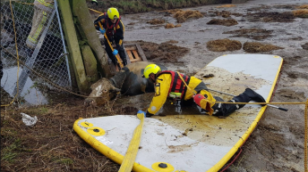 Cattle rescued following close call with slurry store