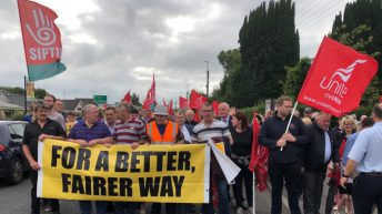 Trade unions to back Bord na Móna worker protest tomorrow