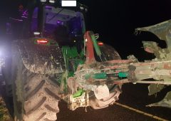 Motorway tractor driver arrested following Garda check