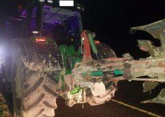 Motorway tractor driver arrested following Garda check