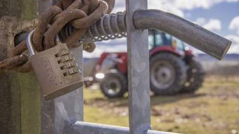 Tractor stolen from shed during owner's funeral