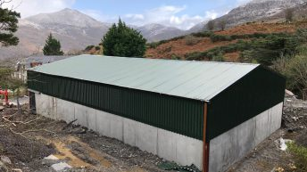 Buildings focus: A new sheep shed on the foot of the Dunkerron Mountains in Co. Kerry