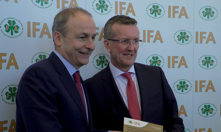 'CAP budget must be the top priority for Micheál Martin' – IFA